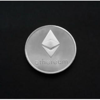 Ethereum コイン シルバー 金運! 仮想通貨 イーサリアム