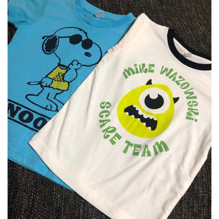 UNIQLO - UNIQLO 半袖Tシャツ2枚セット