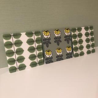 マリメッコ(marimekko)のレア柄♡マリメッコ インテリアパネル ハンドメイド デコパージュ 軽量パネル2(インテリア雑貨)