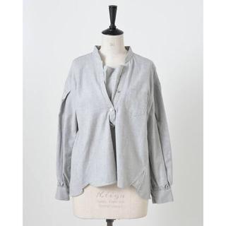 ヤエカ(YAECA)のmhairi(マイリ) レイヤードシャツ 完売色(シャツ/ブラウス(長袖/七分))