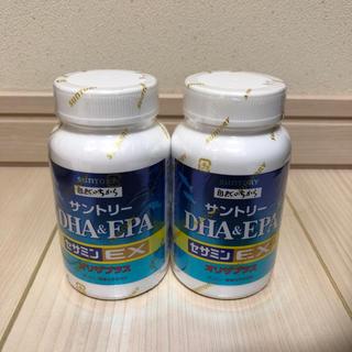 サントリー(サントリー)のサントリー   DHA&EPA + セサミンEX   240粒(その他)