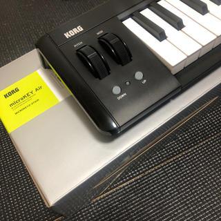 コルグ(KORG)のKORG microKEY Air 37鍵(MIDIコントローラー)