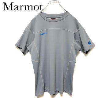 マーモット(MARMOT)の★vintage 90s★ Marmot マーモット 刺繍ロゴ 半袖シャツ(Tシャツ/カットソー(半袖/袖なし))
