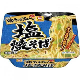 ☆オトクなまとめ買い☆焼そば名人 塩焼そば 109g×12個(インスタント食品)