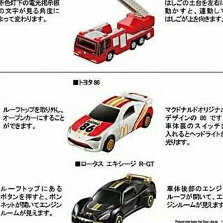 マクドナルド(マクドナルド)のマクド ハッピーセット トミカ(電車のおもちゃ/車)