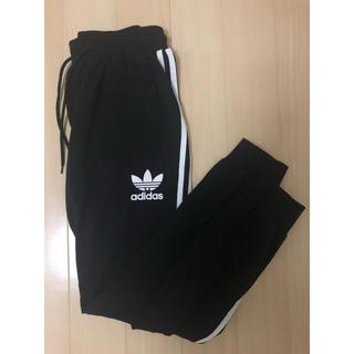 アディダス(adidas)のアディダス ラインパンツ size S BLACK 黒 adidas (その他)