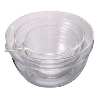 【バカ売れ】HARIO 片口ボウル 耐熱ガラス 3個セット(容器)