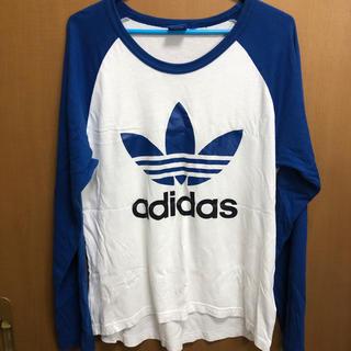 アディダス(adidas)のゆか様。アディダス adidas Mサイズ(Tシャツ/カットソー(七分/長袖))