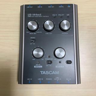 オーディオインターフェイス  TASCAM  US-144MKⅡ