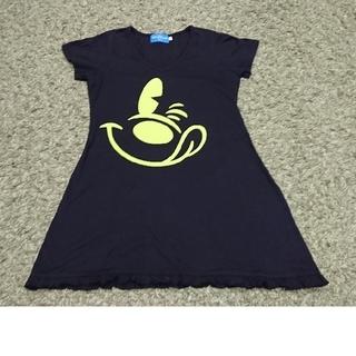 ディズニー(Disney)のDisney  ロング丈Tシャツ(Tシャツ(半袖/袖なし))
