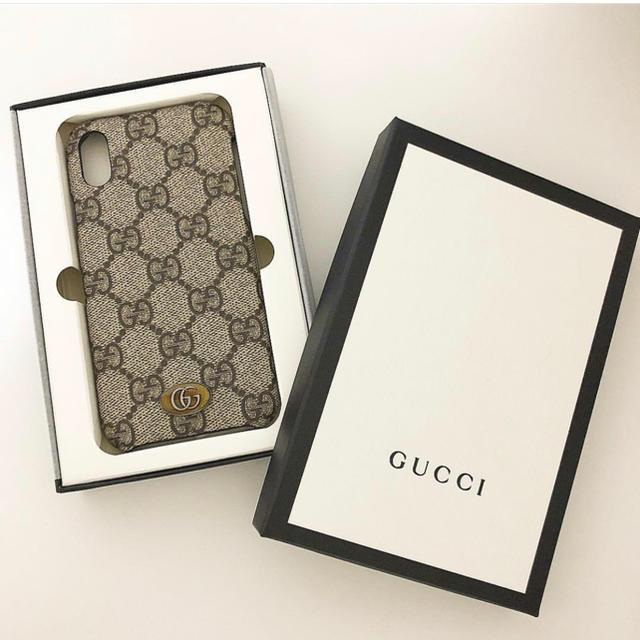 iphone8 カバー アディダス | Gucci - gucci  iPhonex ケースの通販 by ロク's shop|グッチならラクマ