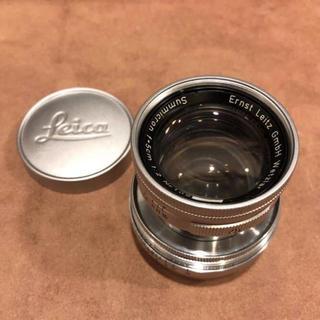 ライカ(LEICA)のLeitz トリウム ズミクロン 50mm F2.0(レンズ(単焦点))