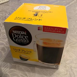 ネスレ(Nestle)のネスカフェ ドルチェグスト𓇼リッチブレンド16個(コーヒー)
