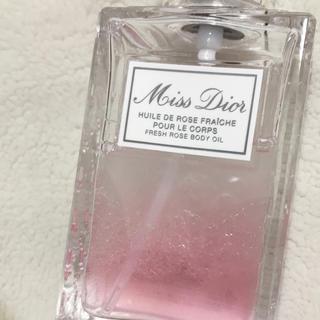ディオール(Dior)のミスディオールボディオイル 23日まで値下げ(ボディオイル)