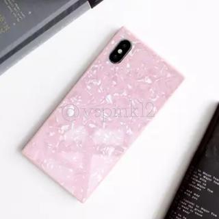 ザラ(ZARA)のラスト1♡シェルスクエア♡iPhone7プラス/8プラスケース♡ピンク(iPhoneケース)