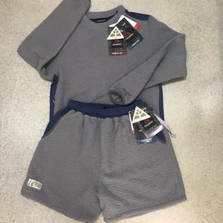 マーモット(MARMOT)の新品 女性L 定価24840円 セットアップ マーモット セーター & パンツ(登山用品)
