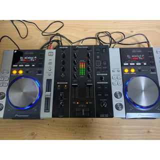 【DJセット】Pioneer DJM350+CDJ200×2台