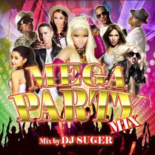 DJ SUGER/MEGA PARTY MIX(クラブ/ダンス)