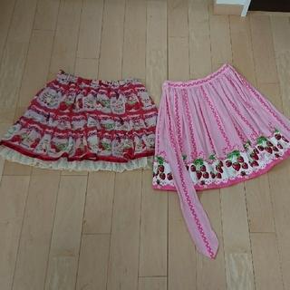 Shirley Temple - シャーリーテンプル いちご&ジャム瓶 スカート
