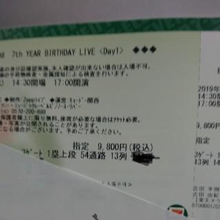 ノギザカフォーティーシックス(乃木坂46)の乃木坂46 birthdaylive day1 2/21(女性アイドル)