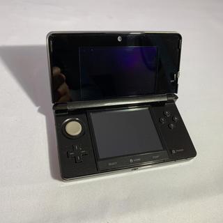 ニンテンドー3DS(ニンテンドー3DS)のニンテンドー 3DS 極美品 ブラック シルバー(携帯用ゲーム本体)