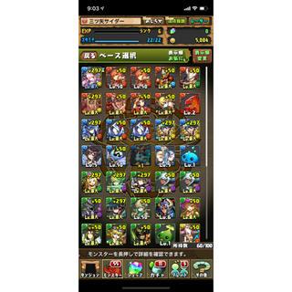 パズドラアカウント(携帯用ゲームソフト)