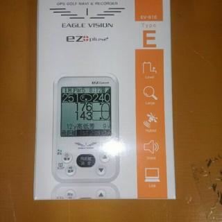 アサヒゴルフ(朝日ゴルフ)の【新品未使用】 イーグルビジョン ezplus2 EV-615 GPSナビ(その他)