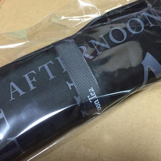 アフタヌーンティー(AfternoonTea)のアフタヌーンティー ロゴ ショルダーバッグ 折りたたみ(トートバッグ)