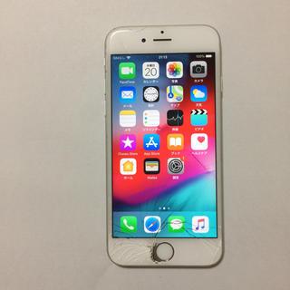 アイフォーン(iPhone)の② docomo iPhone6s 16gb 液晶割れ ロックオフ(スマートフォン本体)