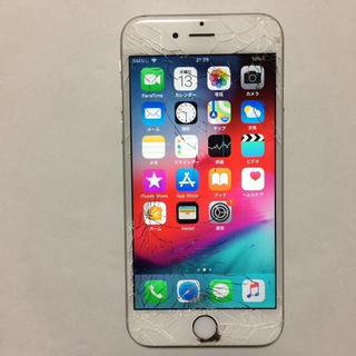 アイフォーン(iPhone)の③ docomo iPhone6s 16gb 液晶割れ ロックオフ(スマートフォン本体)