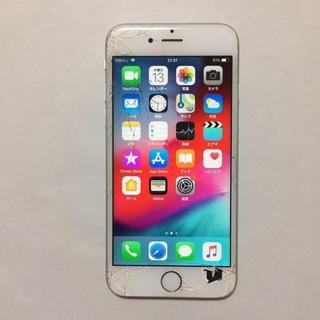 アイフォーン(iPhone)の④ docomo iPhone6s 16gb  液晶割れ ロックオフ(スマートフォン本体)