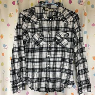 ハニーサックルローズ(HONEYSUCKLE ROSE)のHONEYSUCKLE ROSE チェックシャツ(シャツ/ブラウス(長袖/七分))