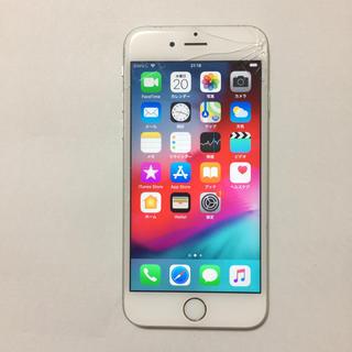 アイフォーン(iPhone)の⑤ docomo iPhone6s 16gb 液晶割れ ロックオフ(スマートフォン本体)