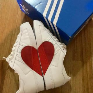 アディダス(adidas)の日本未発売 adidas SUPERSTAR80s HALF HEART(スニーカー)
