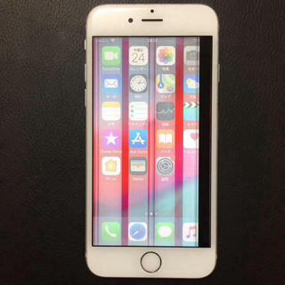 アイフォーン(iPhone)の⑥ docomo iPhone6s 16gb 液晶割れ ロックオフ(スマートフォン本体)