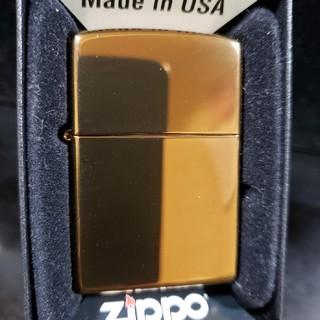 ジッポー(ZIPPO)の新品未使用品❤03H'ZIPPOブラウン チタン ミラー❤送料無料♥(タバコグッズ)