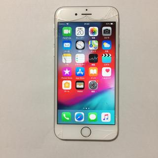 アイフォーン(iPhone)の⑦ docomo iPhone6s 16gb 液晶割れ ロックオフ(スマートフォン本体)