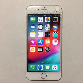 アイフォーン(iPhone)の⑧  docomo iPhone6s 16gb 液晶割れ ロックオフ(スマートフォン本体)