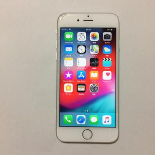 アイフォーン(iPhone)の⑨ docomo iPhone6s 16gb 液晶割れ ロックオフ(スマートフォン本体)