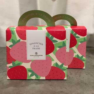 イセタン(伊勢丹)のアンリシャルパンティエ いちごフィナンシェ 4個入り2箱(菓子/デザート)