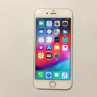 アイフォーン(iPhone)の docomo iPhone6s 16gb 液晶割れ ロックオフ(スマートフォン本体)