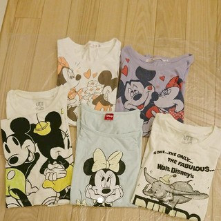 ディズニー(Disney)のディズニー Tシャツ 5枚セット(Tシャツ(半袖/袖なし))