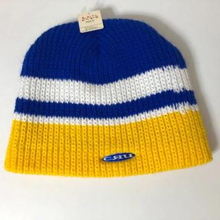 クルー(CRU)の新品タグ付き⭐️CRU ニット帽(ニット帽/ビーニー)