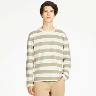 ユニクロ(UNIQLO)のUNIQLO ユニクロ ウォッシュボーダーT(Tシャツ/カットソー(七分/長袖))