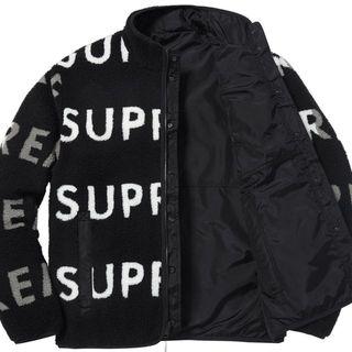 シュプリーム(Supreme)のMサイズ! Supreme Reversible Logo フリース JKT(テーラードジャケット)