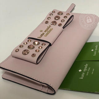 kate spade new york - WLRU3208 ケイトスペード キラキラ ビジュー コンパクト財布 STACY