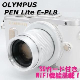 オリンパス(OLYMPUS)の☆WiFi搭載&自撮り!☆ OLYMPUS オリンパス PEN E-PL8(ミラーレス一眼)
