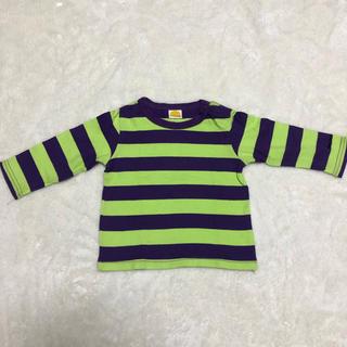ムージョンジョン(mou jon jon)のムージョンジョン Tシャツ 長袖 ボーダー 80センチ(Tシャツ)