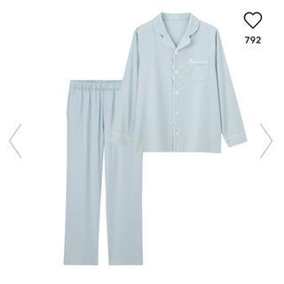 GU - ジーユー GU gu パジャマ 長袖 刺繍 メンズ ルームウェア