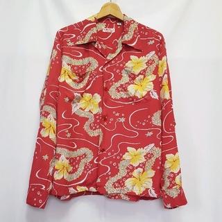 サンサーフ(Sun Surf)の日本製★SUN SURF レーヨン アロハ 長袖シャツ(シャツ)